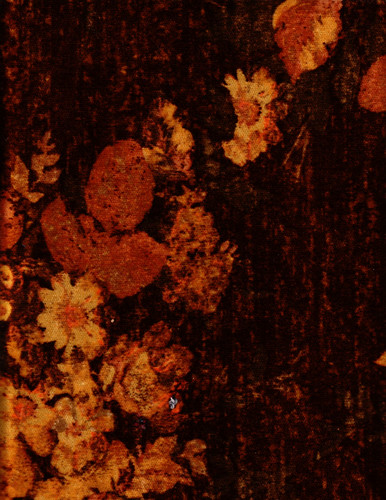 Antique Floral Velvet