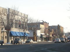 Downtown (dustinsimmonds) Tags: minnesota town downtown little falls mn