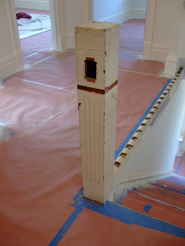 Newel (before)