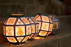 Left behind (theDQT) Tags: light night canon korea seoul lanterns lightroom lotuslanternfestival adobelightroom 40d canon40d
