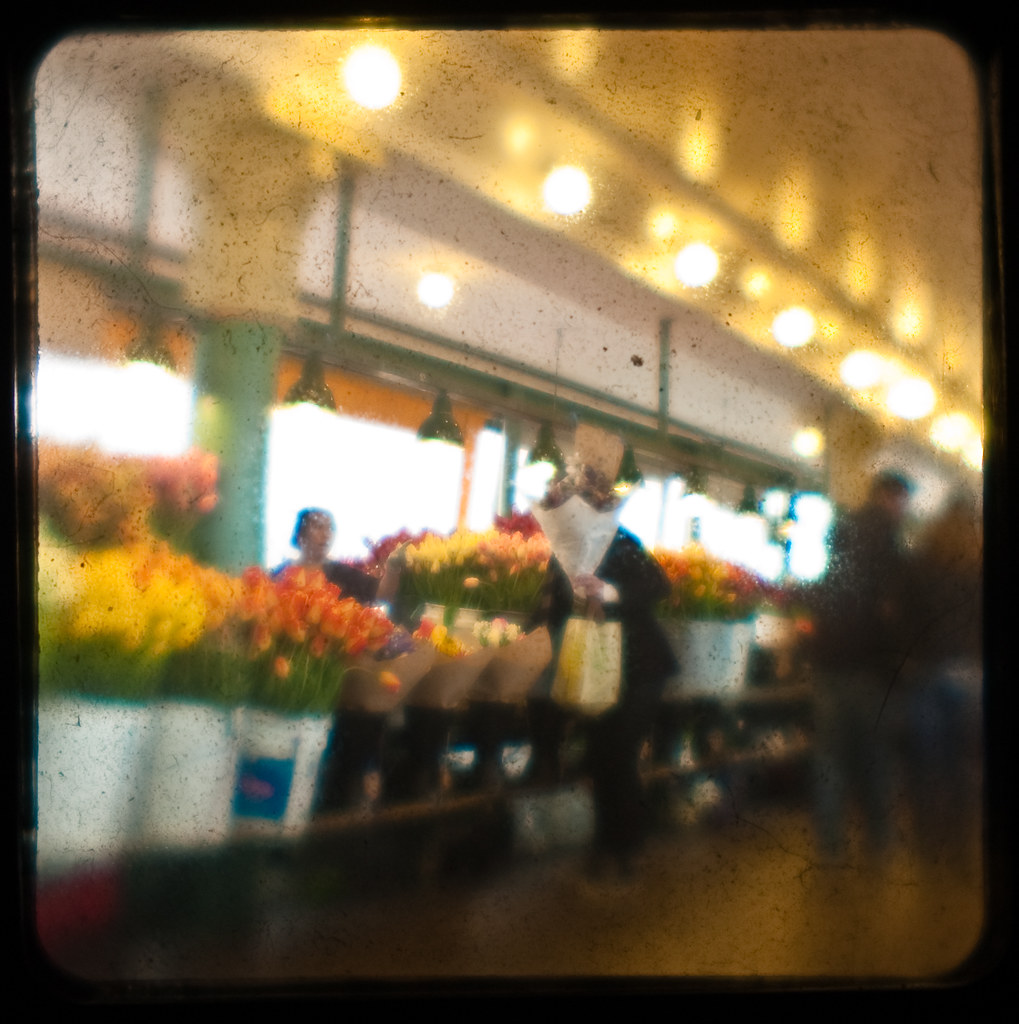 Flower Stand @ the Market