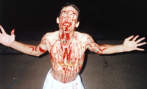 1990s (mid) - Theta Zeta - Doug - covered in blood - 20