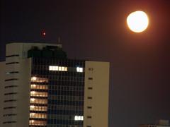 Lua Quase Cheia no Rio de Janeiro