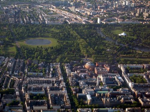 Albert Hall, Hyde Park & Kensington Gardens