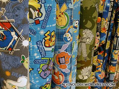 Manga cloth
