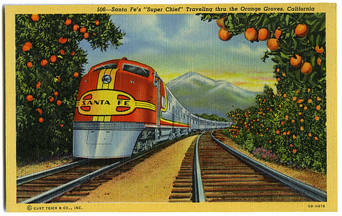 Santa Fe Super Chief_tatteredandlost