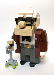 Lego Carl (MacLane) Tags: up lego pixar carl moc