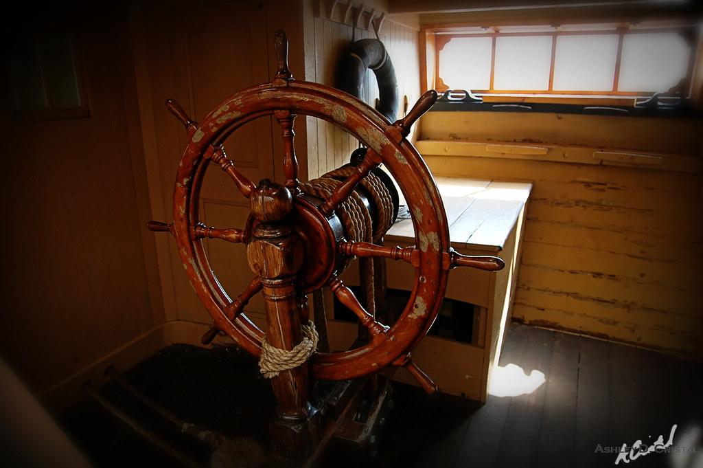 The Charles W. Morgan's Steering Wheel