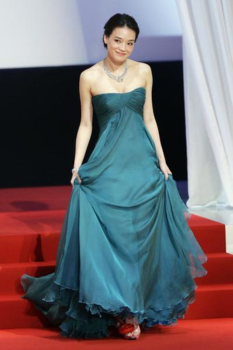 Shu Qi at Cannes 2009 opening
