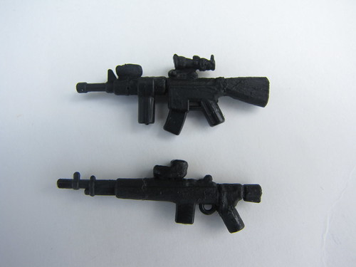 M16A4 and M14 E.B.R.