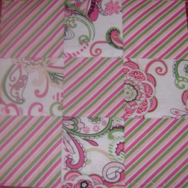 Three by Three Swap StripWhite
