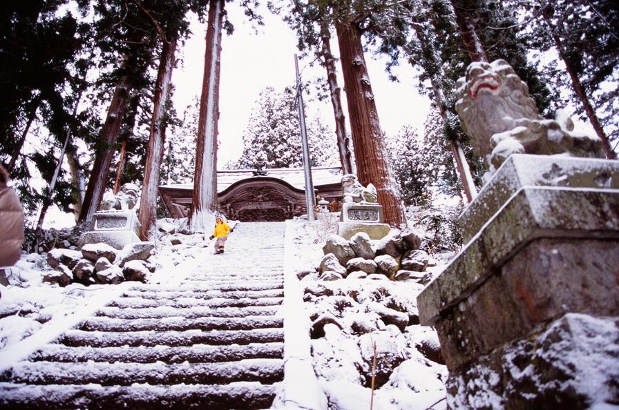 雪景-FUJI Velvia 100