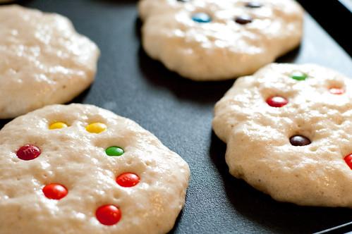 pancakes m&m