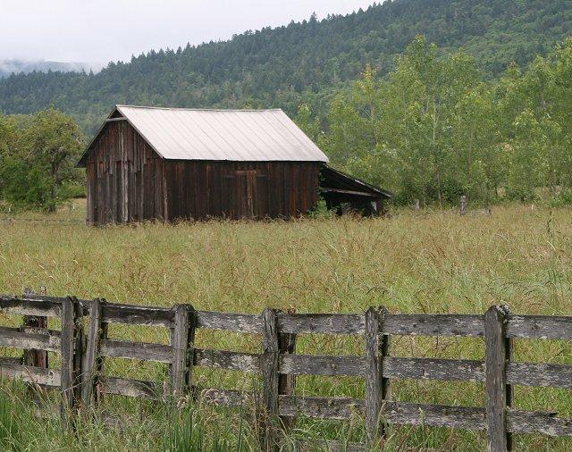 Barn on Dairy Loop Road