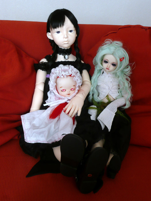 Tara Mae ( Dollmore Lusion )et  Isobel ( dollshe salubia ) 3657958202_a51545d17e_o