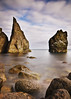 Reykjanes; Iceland (Corica) Tags: longexposure sea water rock landscape iceland nikon geology d300 corica dapagroupmeritaward itspointynabitellyou