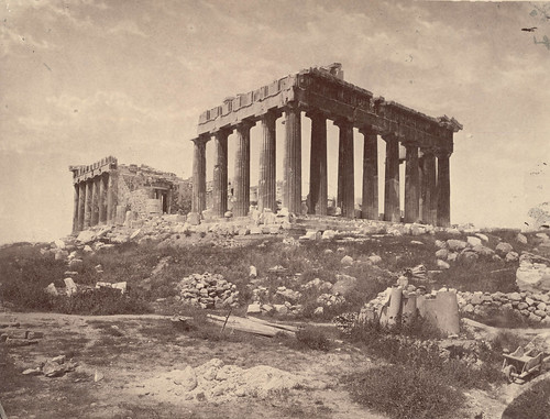 Parthenon from Southeast