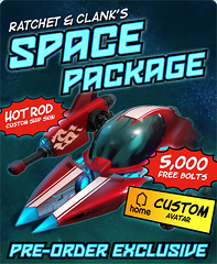 Ratchet & Clank Future: A Crack in Time - Space Package