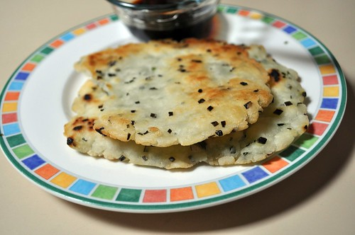 GF:  Green Onion Pancakes