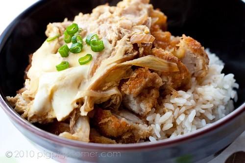 Chicken katsu don 2