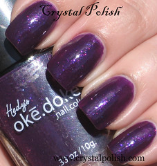 ok.dok. Purple Nurple (CrystalPolish) Tags: purple drugstore shimmer purplenurple okdok