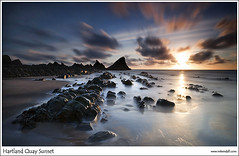 Hartland Sunset II  [Explored #13] (Rob Kendall (aka minolta mad)) Tags: sunset sony north quay devon hartland northdevon a900 hartlandquay robkendall