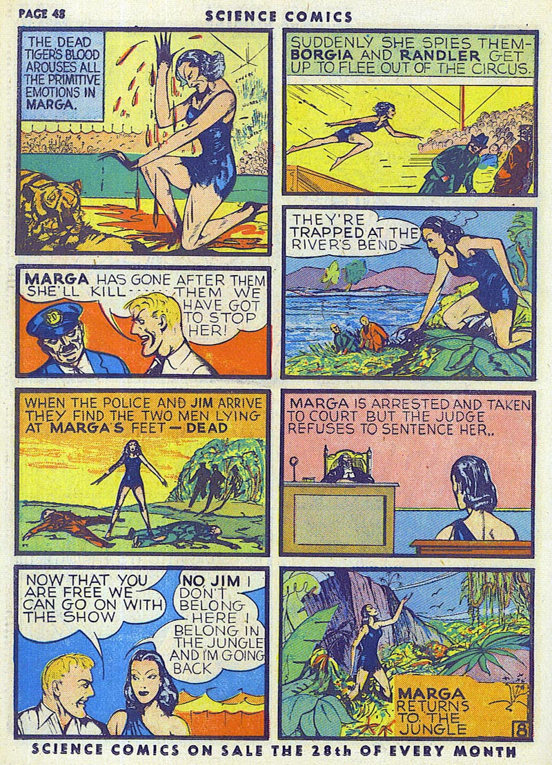 Science Comics 6 - Marga (July 1940) 08