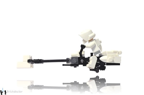 74-Z Speeder Bike - Side
