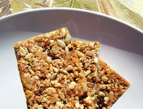 Natural, Sugar-Free Granola Bars
