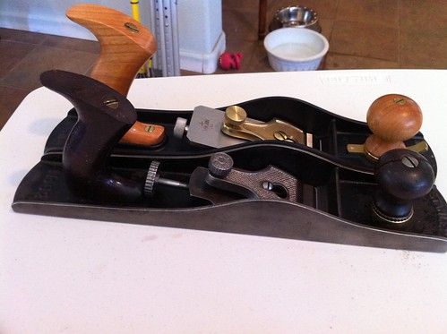 Stanley #62 hand plane and LN-62 side by side