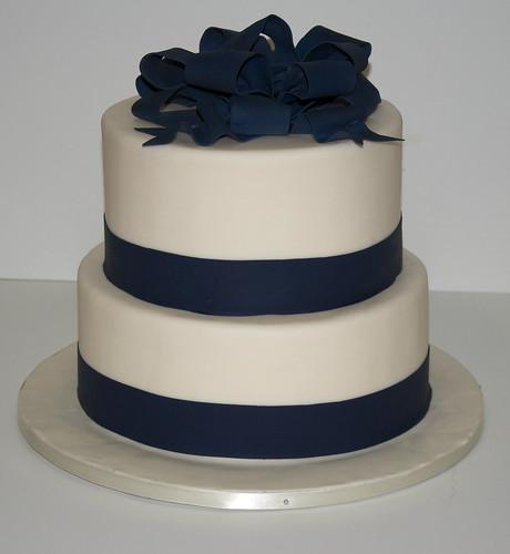 W9003 White Navy Wedding Cake Toronto A Photo On Flickriver