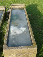 Frozen Trough (Worthing Wanderer) Tags: downs sussex walk