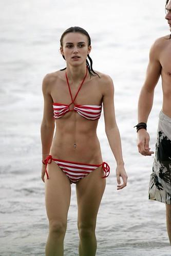Keira Knightley bikini size 0
