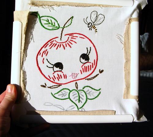 happy apple wip