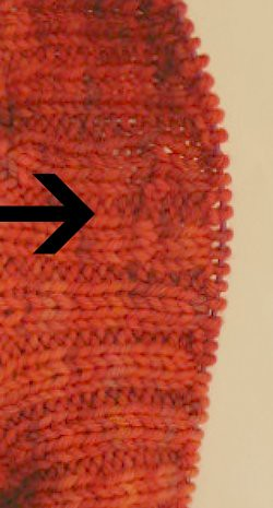 Sewn buttonhole