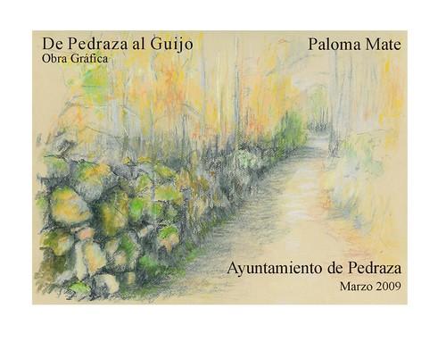 Cartel expo Paloma Mate