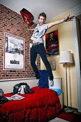 Manhattan (andrea francesco) Tags: portrait jumping manhattan salto ritratto veejay virgisroom lucafiamenghi