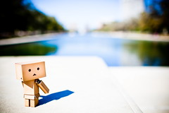Great view (darktiger) Tags: shadow japanese robot mlk martinlutherking danbo danboard