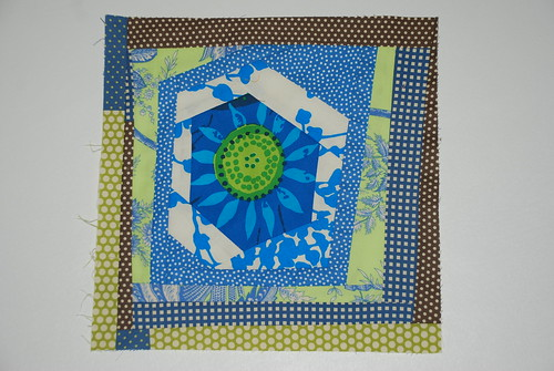 Project Improv blue/green block by you.