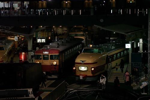 鉄道博物館にて