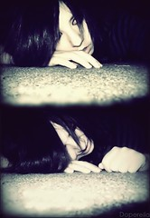 Your words felt like a knife. (bunni[gasm]) Tags: girl pretty sad crying knife like depressed secondhand serenade