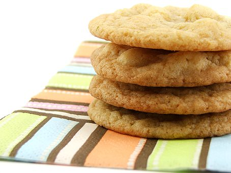 White Chocolate Lime Cookies