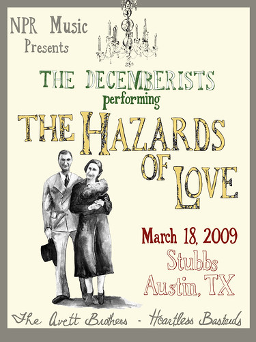 The Hazards of Love poster