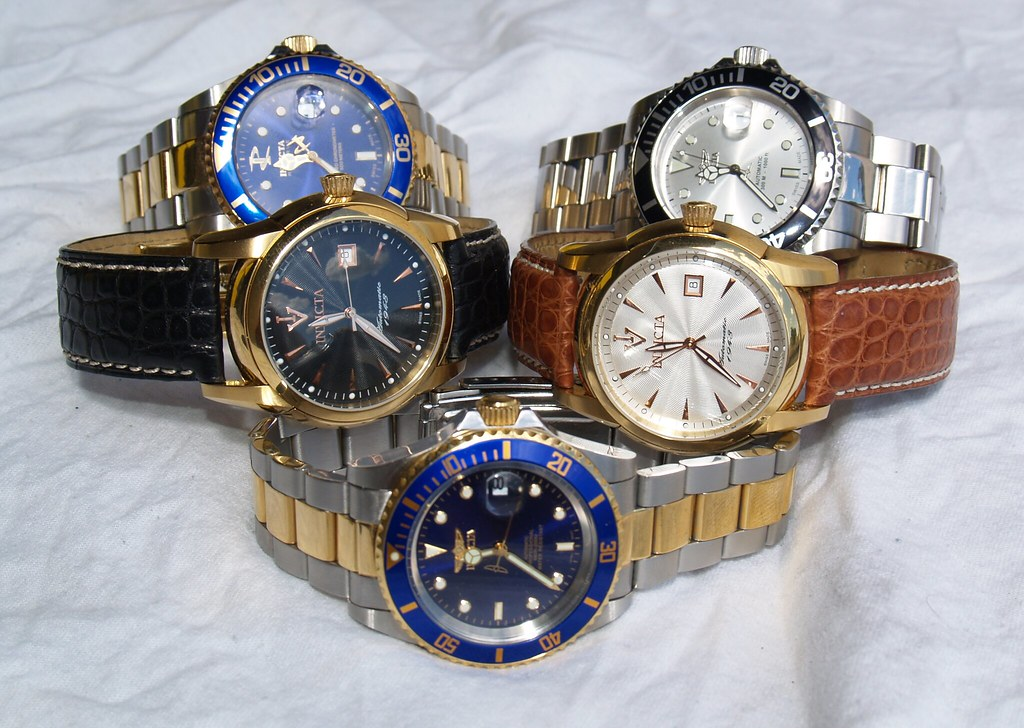 My Invicta Watches