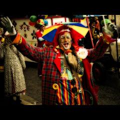 C L O W N (manganite) Tags: carnival red portrait people color men face hat digital umbrella pose germany hair de geotagged fun happy costume nikon funny colorful europe bonn mask tl framed clown joy makeup posing happiness parasol wig procession d200 nikkor dslr effect umzug orton karneval karnevalszug rosenmontag northrhinewestphalia 18200mmf3556 utatafeature manganite nikonstunninggallery repost1 date:month=february date:day=23 date:year=2009 rosenmotagszug geo:lat=50733455 geo:lon=7093947 format:ratio=43