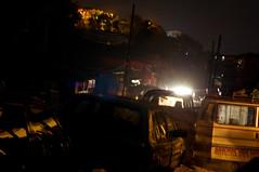 Regent Road by Night IV (unipus) Tags: africa night sierraleone freetown