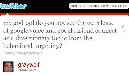 Graywolf Tweet