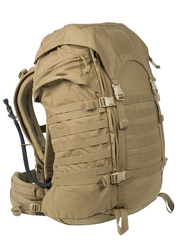 Армейский рюкзак легкой пехоты США.  'Есть на свете городок, плоский как...