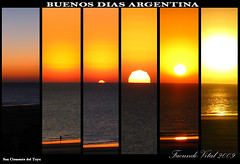 Buenos Dias Argentina! (Facu551) Tags: sunset sea naturaleza nature argentina argentine sunrise canon atardecer mar san buenos dia amanecer dias soe atlntico clemente atlantico buen tuyu sanclementedeltuyu mywinners sx100