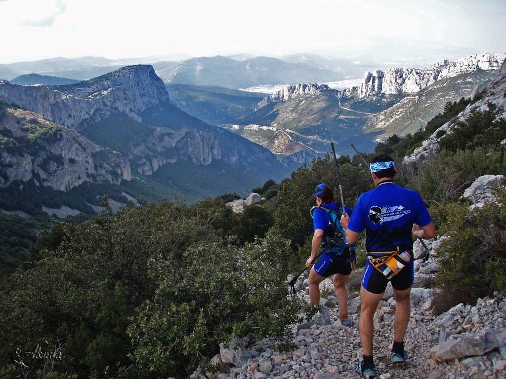 trail de la sainte baume 2009